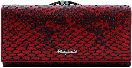 Кошельки бумажники и портмоне Malgrado 72031-52501-Red malgrado 72031 3 8201d black malgrado