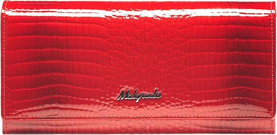 Кошельки бумажники и портмоне Malgrado 72032-3-44-Red