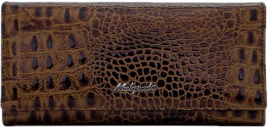 Кошельки бумажники и портмоне Malgrado 72032-3-65-Coffee
