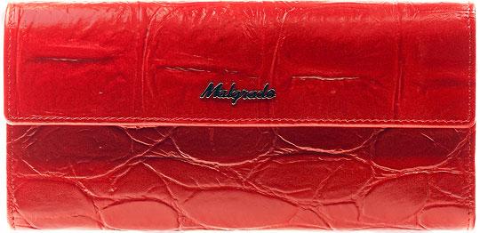 Кошельки бумажники и портмоне Malgrado 72044-1-29102-Red кошельки бумажники и портмоне malgrado 56504 7101d black