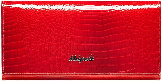 Кошельки бумажники и портмоне Malgrado 72058-44-Red