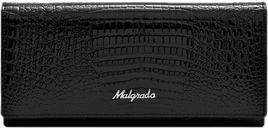 Кошельки бумажники и портмоне Malgrado 72058-46-Black кошельки бумажники и портмоне malgrado 72031 3 46 black