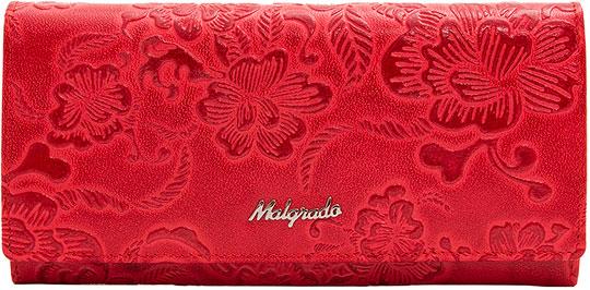 Кошельки бумажники и портмоне Malgrado 72076-18202-Red кошелек женский malgrado цвет красный 43022 18202