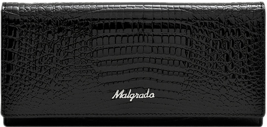 Кошельки бумажники и портмоне Malgrado 72076-46-Black