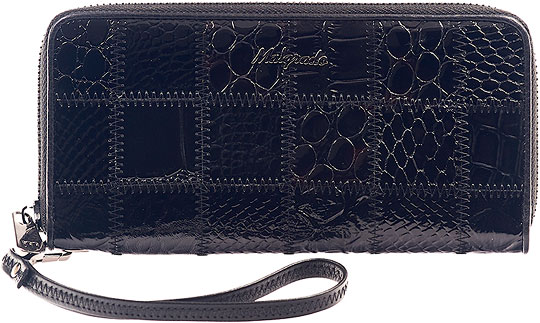 Кошельки бумажники и портмоне Malgrado 73005-239A-Black кошельки бумажники и портмоне malgrado 73005 239a black