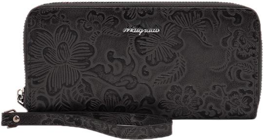 Кошельки бумажники и портмоне Malgrado 73007-18203-Black кошельки бумажники и портмоне malgrado 72031 3 46 black