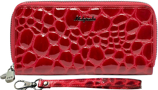 Кошельки бумажники и портмоне Malgrado 73007-38402-Red malgrado 42003 1n 38402 red malgrado