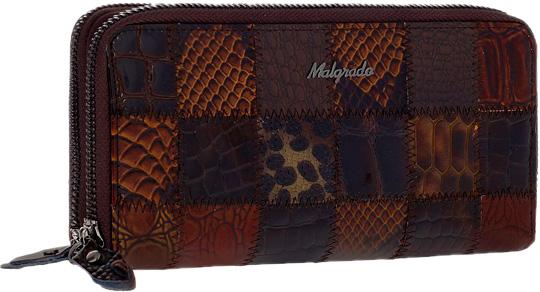 Кошельки бумажники и портмоне Malgrado 73007-490A-Coffee malgrado 55020 5a 490a coffee malgrado