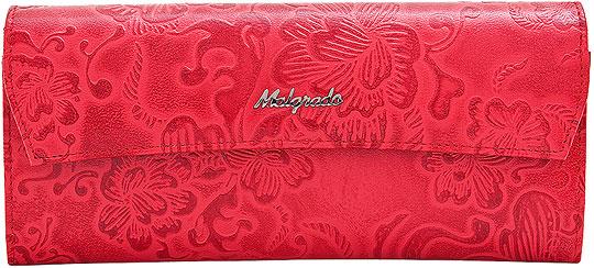 Кошельки бумажники и портмоне Malgrado 75504-18202-Red malgrado 75504 29104 brown malgrado