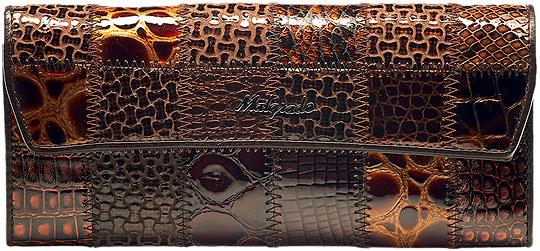 Кошельки бумажники и портмоне Malgrado 75504A-490A-Coffee
