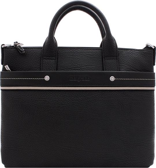 Кожаные сумки Malgrado BR09-318B4932-Black