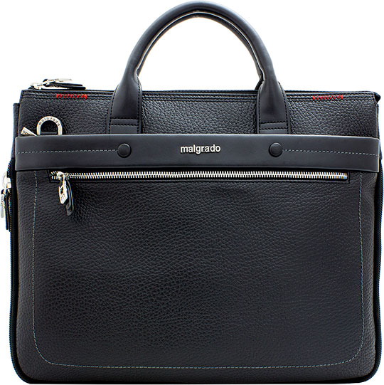 Кожаные сумки Malgrado BR09-359-Black