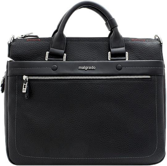 Купить со скидкой Кожаные сумки Malgrado BR09-360-black