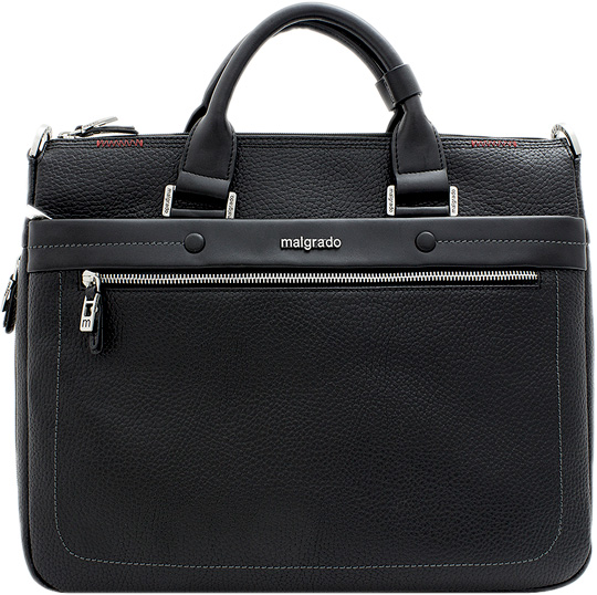 Кожаные сумки Malgrado BR09-360-black