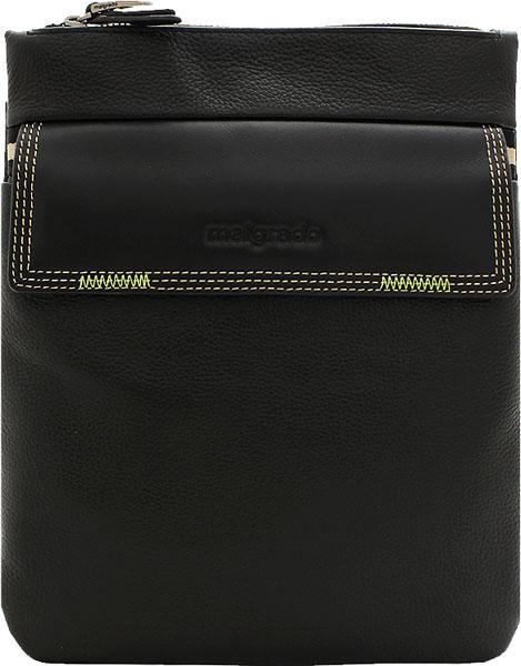 Кожаные сумки Malgrado BR09-673C2426-Black