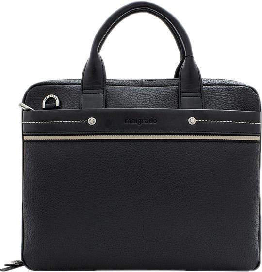 Кожаные сумки Malgrado BR09-721-black