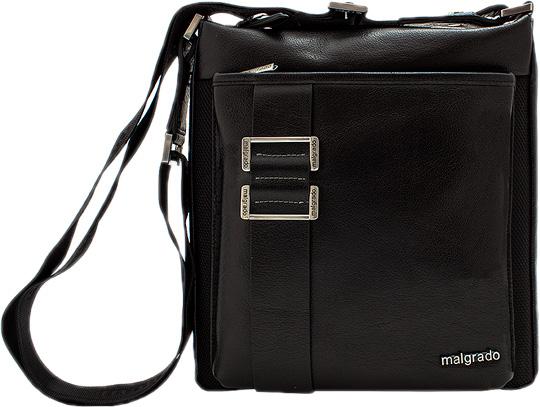 Кожаные сумки Malgrado BR11-758B5611-black