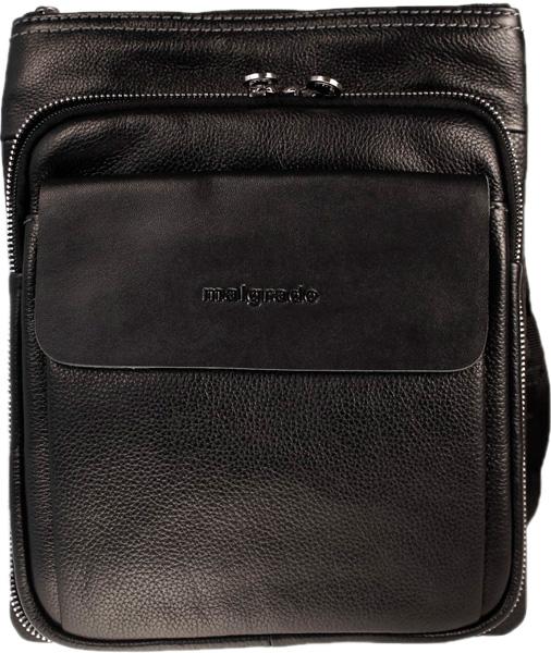 цена Кожаные сумки Malgrado BR25-352-black онлайн в 2017 году