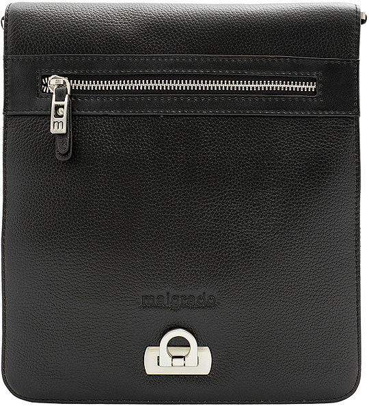 Кожаные сумки Malgrado BR38-04B4743-black