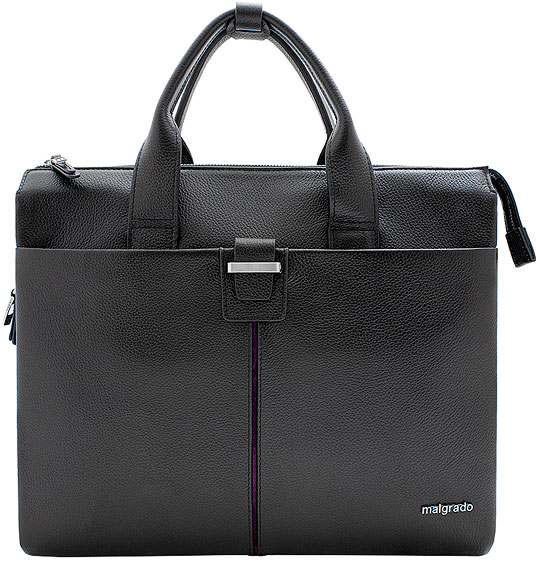 Кожаные сумки Malgrado BR38-88C2458-black кожаные сумки malgrado br09 201c1782 black