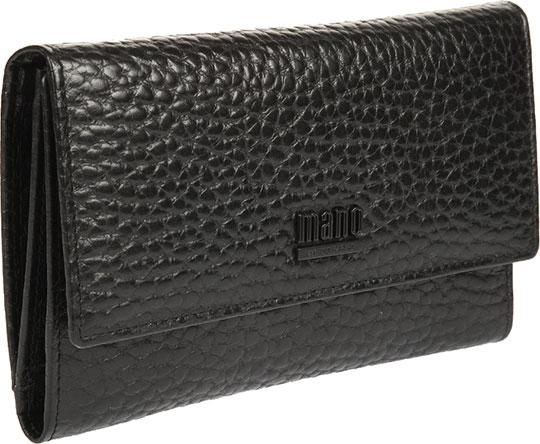 Кошельки бумажники и портмоне Mano 19534-black кошельки бумажники и портмоне mano 19103 tabula black