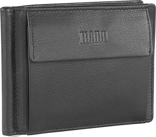 Кошельки бумажники и портмоне Mano 19819-black кошельки mano портмоне для авиабилетов