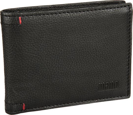 Кошельки бумажники и портмоне Mano 19952-black кошельки mano портмоне для авиабилетов