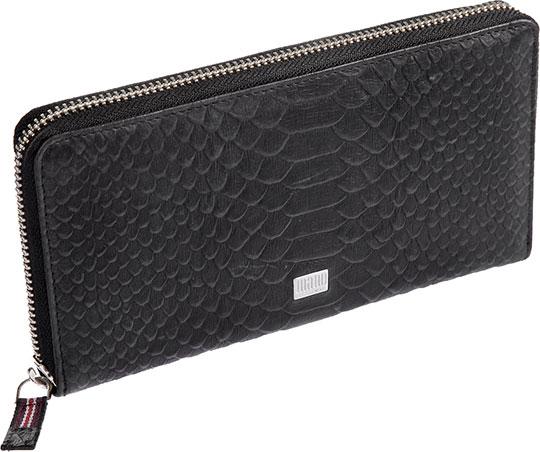 Кошельки бумажники и портмоне Mano 20151-croco-black портмоне mano 19806 black