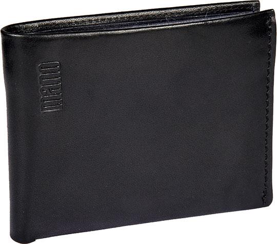 Кошельки бумажники и портмоне Mano 20303-black-blue кошельки бумажники и портмоне mano 20103 setru pink cerise