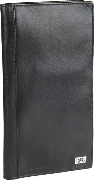 Кошельки бумажники и портмоне Mano Rus12-100012-black-nappa кошельки mano портмоне для авиабилетов