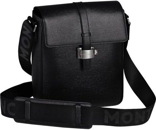 Городская сумка Montblanc 4810 Westside цвет черный арт.104612 Срочная.