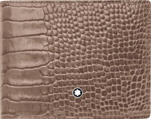 Фото «Мужской кожаный бумажник Montblanc MB113281»