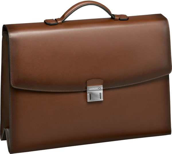 Фото «Мужской кожаный портфель Montblanc MB113320»
