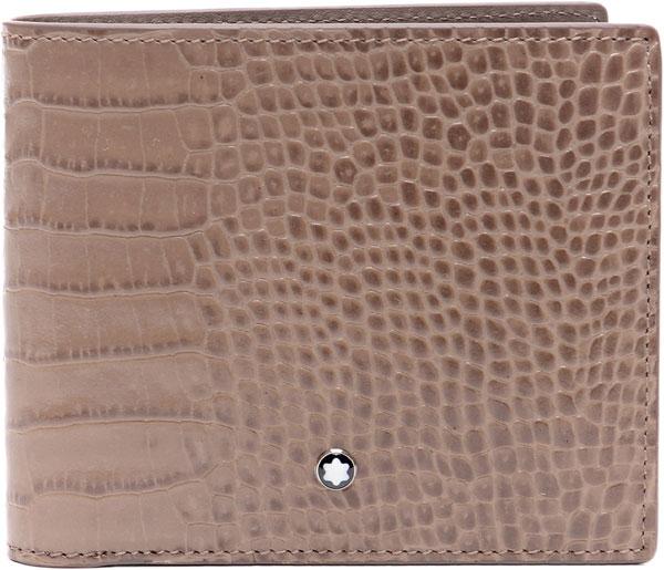 Фото «Мужской кожаный бумажник Montblanc MB114449»