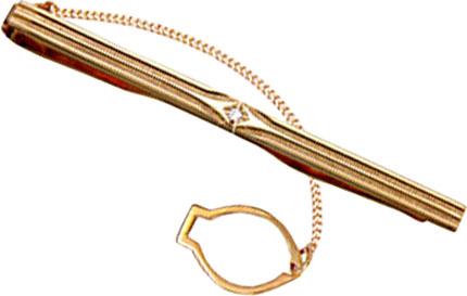 Зажимы для галстуков Национальное Достояние 70413-P-nd