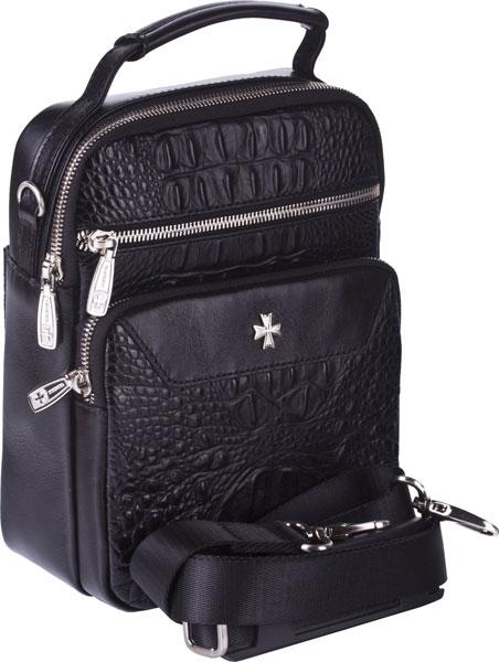 Кожаные сумки Narvin 9480-n-bambino-black ключницы narvin 9276 n polo d blue