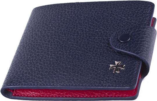 Кошельки бумажники и портмоне Narvin 9651-n-polo-d-blue-red narvin 9965 n polo cream narvin