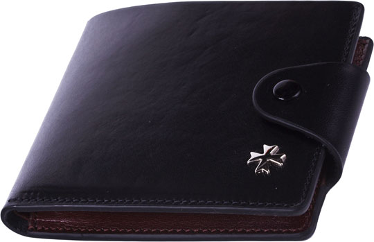Кошельки бумажники и портмоне Narvin 9651-n-vegetta-black визитницы и кредитницы narvin 9122 n vegetta brown