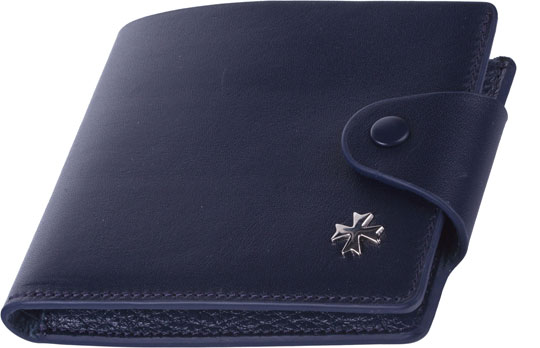 Кошельки бумажники и портмоне Narvin 9651-n-vegetta-d-blue кошельки piero портмоне
