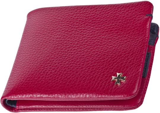 Кошельки бумажники и портмоне Narvin 9679-n-polo-red-d-blue