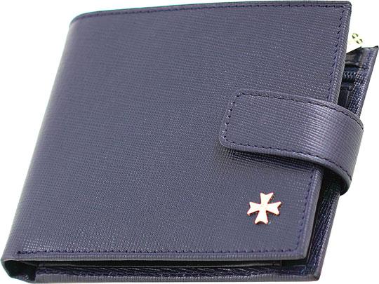 цена на Кошельки бумажники и портмоне Narvin 9683-n-prada-d-blue