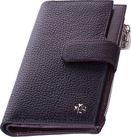 Кошельки бумажники и портмоне Narvin 9687-n-polo-black ключницы narvin 9276 n polo black