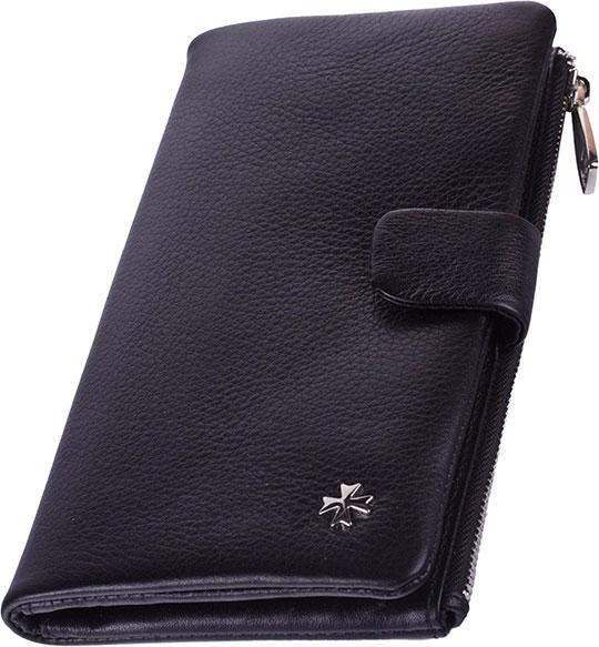 цена Кошельки бумажники и портмоне Narvin 9688-n-polo-black онлайн в 2017 году