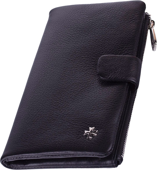 Кошельки бумажники и портмоне Narvin 9688-n-polo-black jakob mändmets pelgur