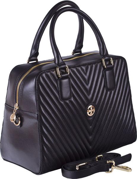 купить Кожаные сумки Narvin 9968-n-armani-black по цене 26940 рублей
