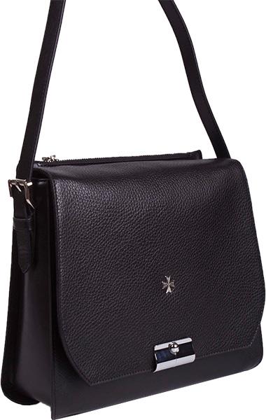 Кожаные сумки Narvin 9451-n-polo-black-prada-black