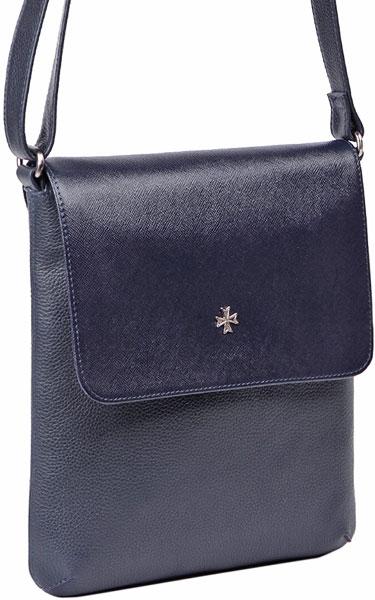 Кожаные сумки Narvin 9494-n-polo-d-blue-prada-d-blue от AllTime