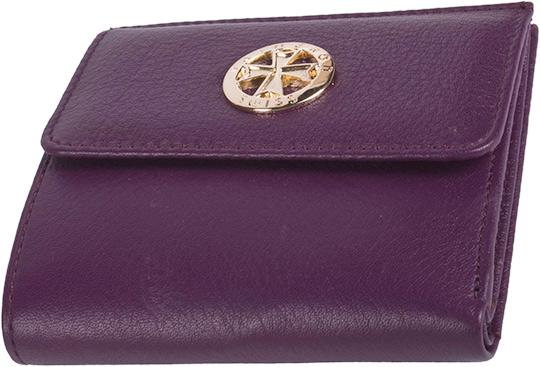 цена Кошельки бумажники и портмоне Narvin 9566-n-polo-violet онлайн в 2017 году