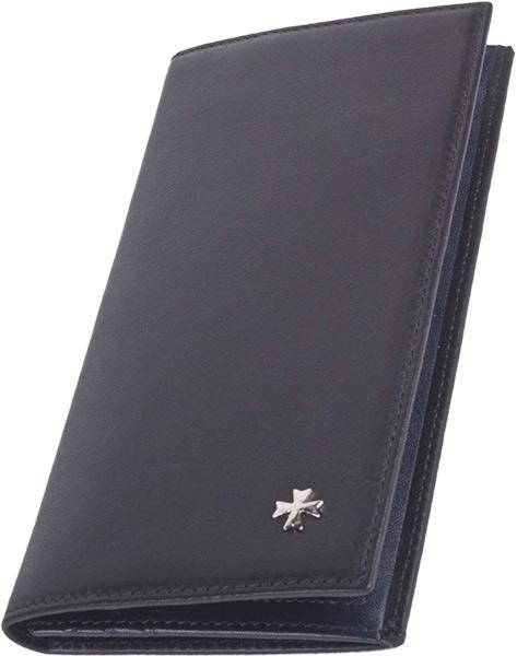 Кошельки бумажники и портмоне Narvin 9667-n-palermo-black 182230 фото