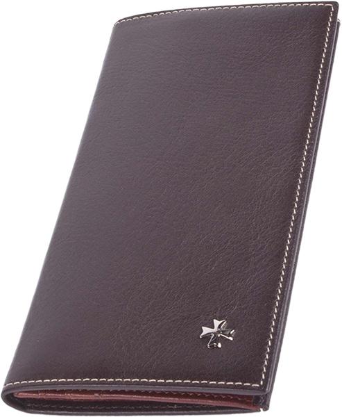 цена Кошельки бумажники и портмоне Narvin 9667-n-vegetta-brown онлайн в 2017 году